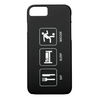 Eat Sleep Soccer iPhone 8/7 Case