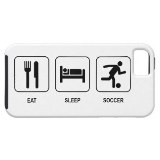 Eat Sleep Soccer iPhone SE/5/5s Case