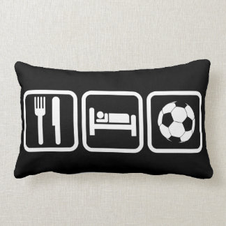 Eat Sleep Soccer Lumbar Pillow