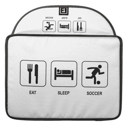 Eat Sleep Soccer MacBook Pro Sleeve