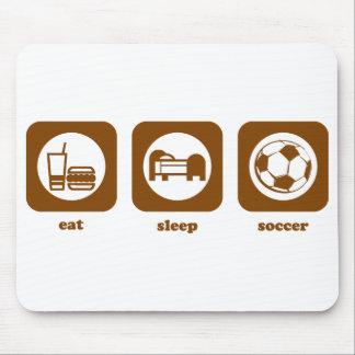Eat. Sleep. Soccer. Mousepad