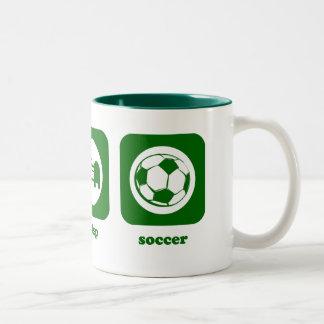 Eat. Sleep. Soccer. Mug
