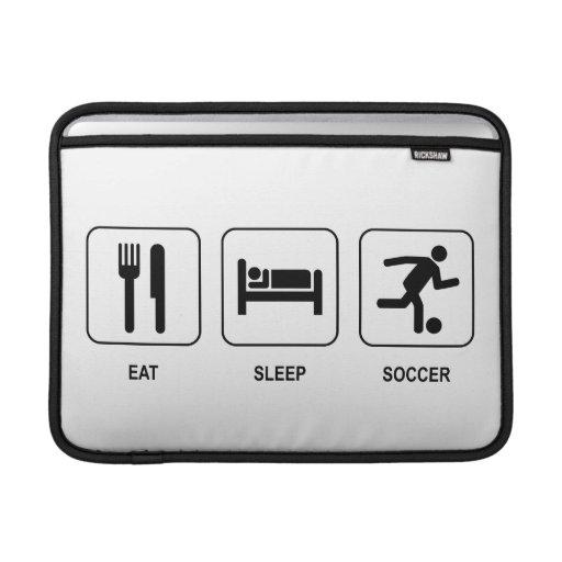 Eat Sleep Soccer Sleeve For MacBook Air