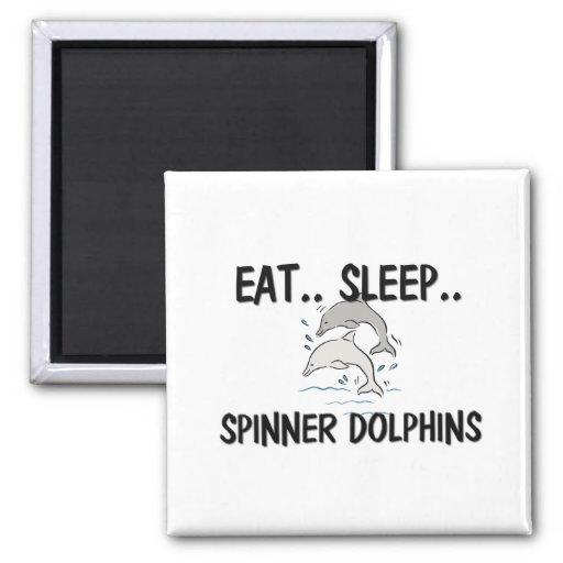 Eat Sleep SPINNER DOLPHINS Refrigerator Magnets