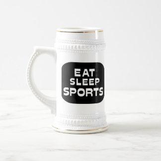 Eat Sleep Sports Coffee Mug