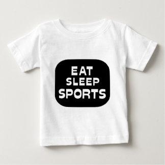 Eat Sleep Sports Tshirt