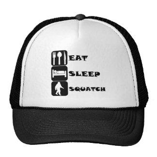 Eat Sleep Squatch Trucker Hat
