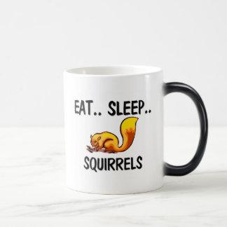 Eat Sleep SQUIRRELS Coffee Mug