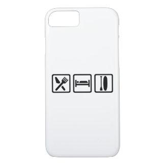 Eat sleep Stand up paddling iPhone 7 Case