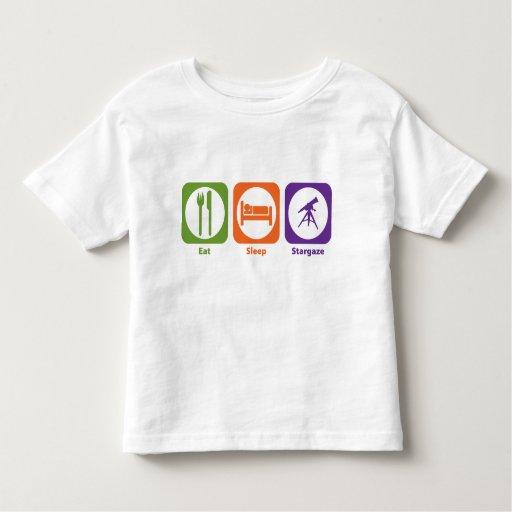 Eat Sleep Stargaze T Shirts