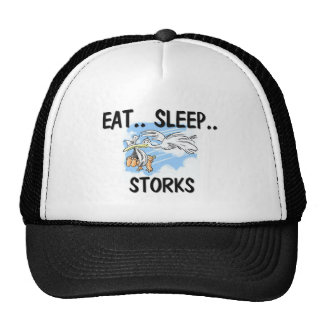 Eat Sleep STORKS Trucker Hat