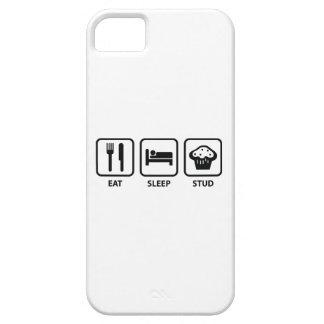 Eat Sleep Stud Muffin iPhone 5 Covers