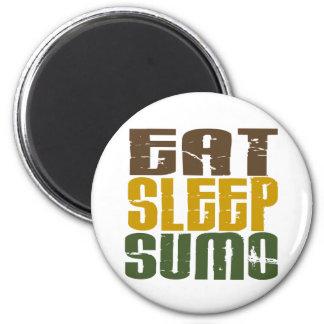 Eat Sleep Sumo 1 Magnet