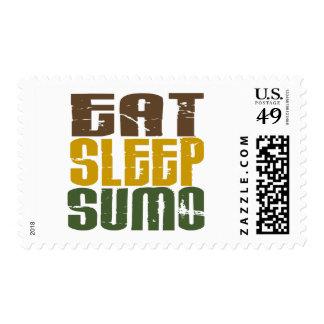 Eat Sleep Sumo 1 Stamp