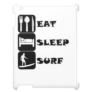 Eat Sleep Surf Cover For The iPad 2 3 4