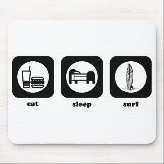 Eat. Sleep. Surf. Mousepad