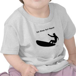 Eat Sleep Surf Repeat Shirt