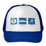 Eat Sleep Surf Trucker Hats