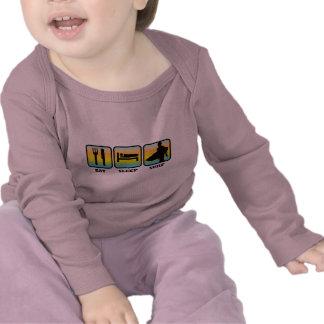 Eat, Sleep, Surf T Shirts