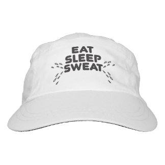 eat sleep sweat - funny sports hat