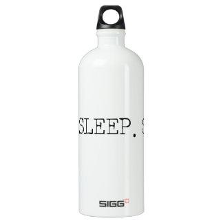 Eat Sleep Swim Aluminum Water Bottle