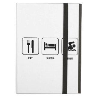 Eat Sleep Swim iPad Air Case