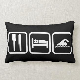 Eat Sleep Swim Pillows