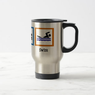 Eat Sleep Swim Travel Mug