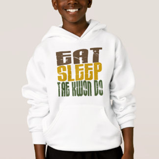 Eat Sleep Tae Kwon Do 1 Hoodie