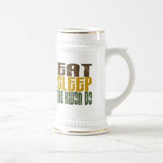 Eat Sleep Tae Kwon Do 1 18 Oz Beer Stein