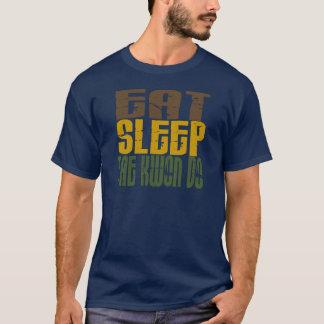 Eat Sleep Tae Kwon Do 1 T-Shirt