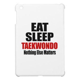 EAT SLEEP TAEKWONDO iPad MINI CASES