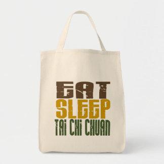 Eat Sleep Tai Chi Chuan 1 Grocery Tote Bag