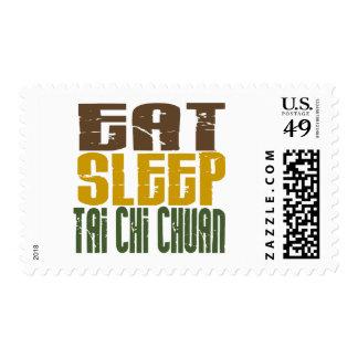 Eat Sleep Tai Chi Chuan 1 Postage Stamp