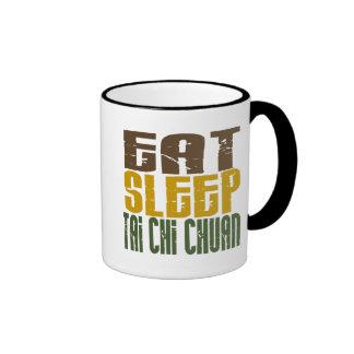 Eat Sleep Tai Chi Chuan 1 Ringer Coffee Mug