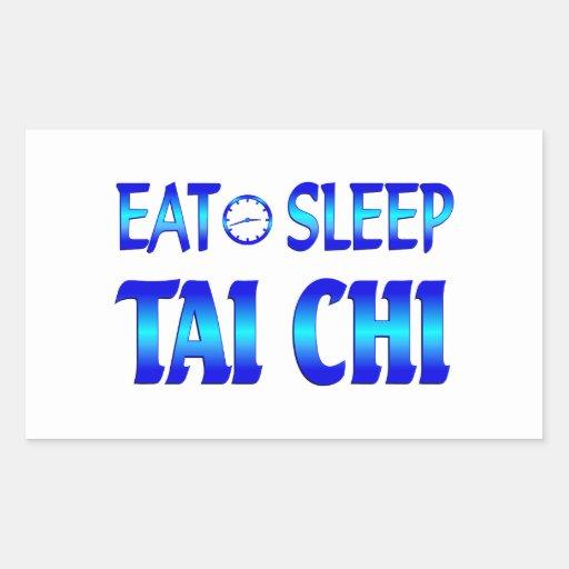 Eat Sleep Tai Chi Sticker