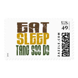 Eat Sleep Tang Soo Do 1 Postage Stamp