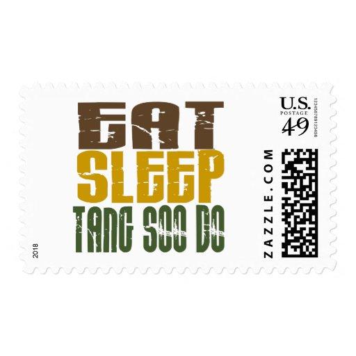 Eat Sleep Tang Soo Do 1 Stamp