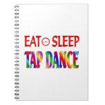 Eat Sleep Tap Dancing Journal