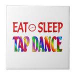 Eat Sleep Tap Dancing Tile