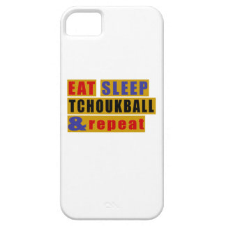 EAT SLEEP TCHOUKBALL AND REPEAT iPhone SE/5/5s CASE