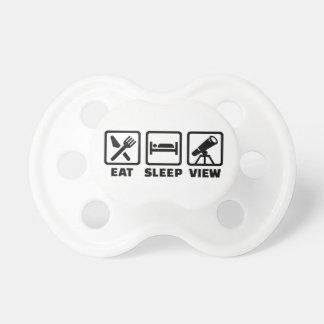 Eat sleep Telescope Pacifier