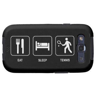 Eat Sleep Tennis Samsung Galaxy S3 Cases