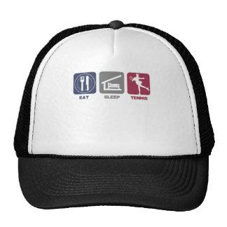 Eat Sleep Tennis - Girl 1 Trucker Hat