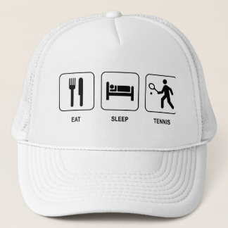 Eat Sleep Tennis Hat
