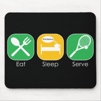 Eat Sleep Tennis Mouse Pad