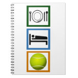 Eat Sleep Tennis Note Book