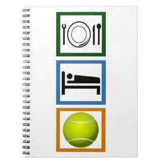 Eat Sleep Tennis Notebook
