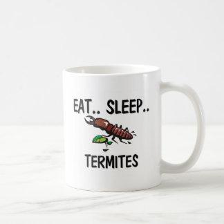 Eat Sleep TERMITES Classic White Coffee Mug