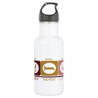 Eat * Sleep * Theater Water Bottle